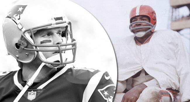 Tony Dungy 1950s Browns Dynasty Patriots