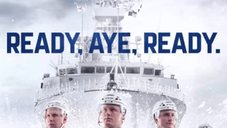 Toronto Maple Leafs Unveil Navy-Inspired Jerseys For 2018 Stadium Series And They're SICK