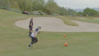 FootGolf Is A Soccer-Golf Hybrid Sport That Requires Athleticism And Skill