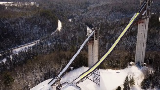 Olympic Ski Jumper Explains What It's Like To Go From 0 To 60MPH In 3 Seconds And Jump Off A Mountain