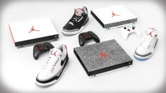 Xbox One X And Air Jordan Have Teamed Up To Create A Sneakerhead's Dream Gaming Consoles