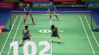 This 102-Shot Badminton Rally Is More Hectic Than A March Madness Buzzer Beater