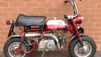 This Unrestored 1969 Honda Mini Bike Belonging To A Rock Legend Just Sold For Over $77K