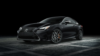 Stealthy Lexus RC F Sport Black Line Special Edition Is Coming To The New York Auto Show