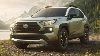2019 Toyota RAV4 Gets A Tough New Look And Looks Like A Truck