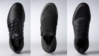 Adidas Golf Just Unveiled Three New Special Edition Black BOOST Colorways