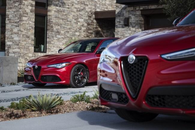 Alfa Romeo Nero Edizione Giulia Stelvio