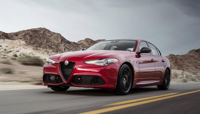 Alfa Romeo Nero Edizione Giulia