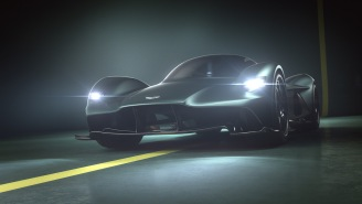 Meet Your New Car Obsession: The 2,205 Pound, 225 MPH Aston Martin Valkyrie AMR Pro Hypercar