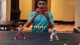 Augmented Reality Developer Creates Real-Life Version Of 'Street Fighter' That's Awesome