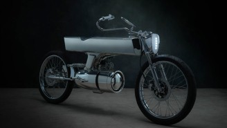 Bandit9 L-Concept Motorcycle Has Radical Design That Was Inspired By 'Star Trek'