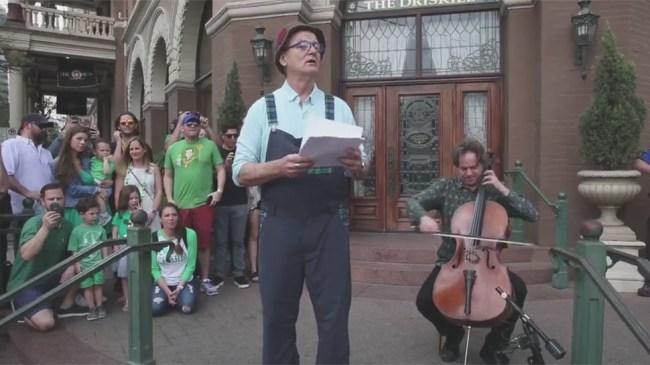 Bill Murray SXSW dog poem