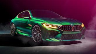 The BMW Concept M8 Gran Coupe Has More Power And Style Than It Knows What To Do With