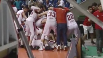 Brazilian Basketball Player Buries One Of The Most Improbable Buzzer-Beaters You'll Ever See