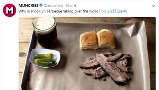 Vice Article Claiming Brooklyn BBQ Is Taking Over The World Is Getting Smoked On Twitter