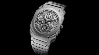 Bulgari's Crazy New Octo Finissimo Tourbillon Automatic Watch Is The Thinnest Automatic Tourbillon Ever Built
