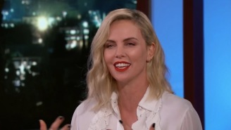 Charlize Theron's Mom Hooked Her Up With Weed For Sleep