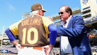 Chris Berman Managed The San Francisco Giants At A Spring Training Game This Weekend