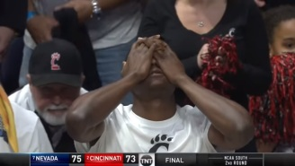 Gambler Got Absolutely Crushed After Making Terrible $2K Bet On Cincinnati After Team Was Up 22 Points Against Nevada