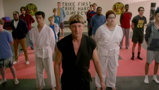 Cobra Kai Becomes The Good Guys In The New Trailer For The 'Karate Kid' Reboot