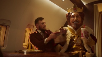Conor McGregor Just Did a New Burger King Commercial And Wow, He Really Cannot Act At All