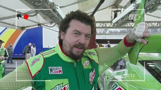 Danny McBride Is Back As NASCAR Driver Dewey Ryder And I Can't Stop Laughing At This Tour Of His Race Car