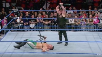 Impact Wrestling Star Takes A Baseball Bat To The Face In Stunt Gone Very Wrong