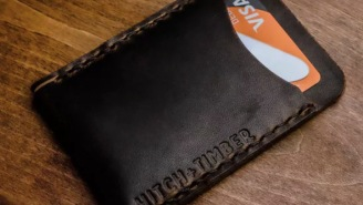The Flat Jacket Card Wallet From Hitch And Timber Is Perfect For Everyday Carry