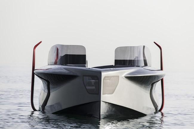 foiler flying yacht photos
