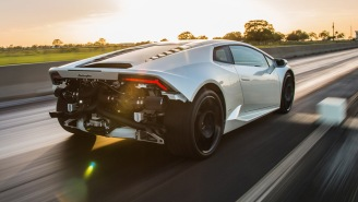The Hennessey Lamborghini Huracan HPE1000 Twin Turbo Is Straight Out Of 'Mad Max'