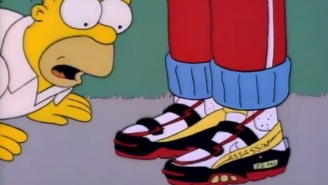 Forget Steph Curry's Dad Shoes, Homer's 'Assassin' Dad Kicks Are Now Real And They're Spectacular