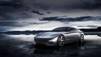 Stunning Hyundai Le Fil Rouge EV Concept Car Is Definitely Not Your Father's Hyundai