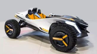 Hyundai Kite Is A Dune Buggy That Transforms Into A Jet Ski