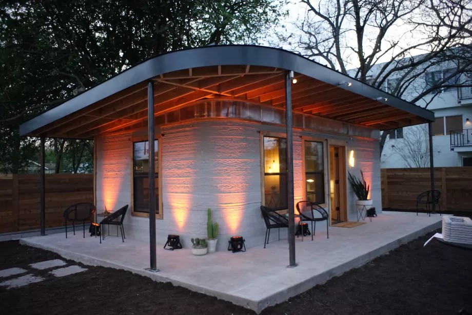 icon 3d printed home