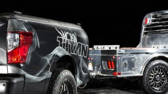 This 2018 Nissan 'Smokin' TITAN XD' Might Be The Most Perfect Tailgating Vehicle Ever Created