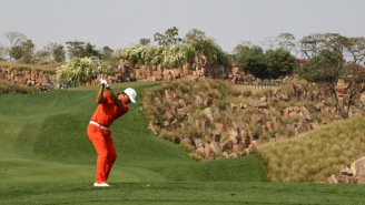 The Indian Open European Tour Stop Features The Most Ridiculous Bunker You'll Ever See