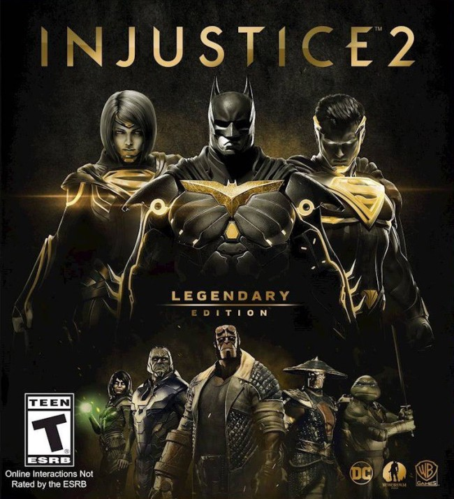 Injustice 2 Legendary Edition Released March