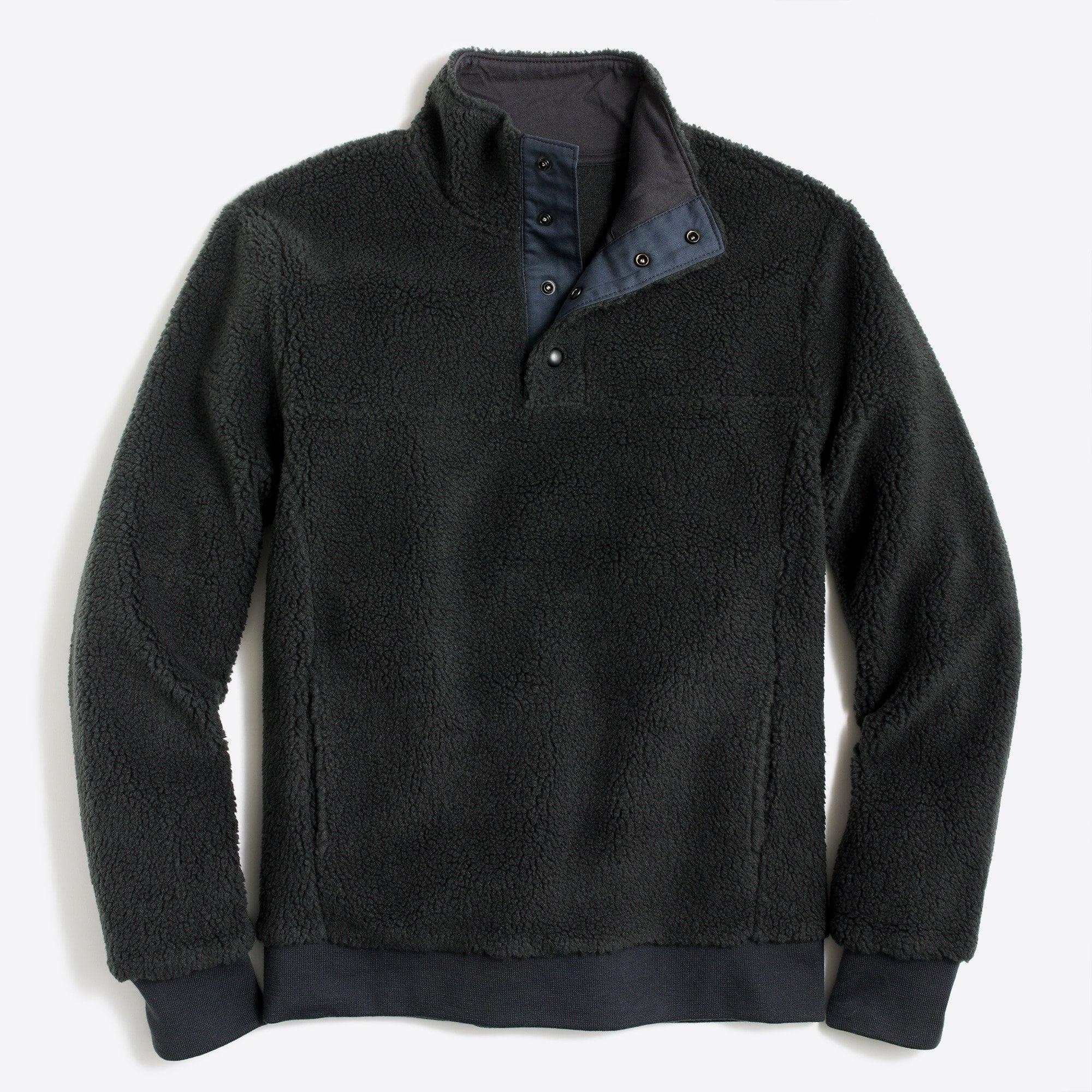 j crew sale fleece pullover