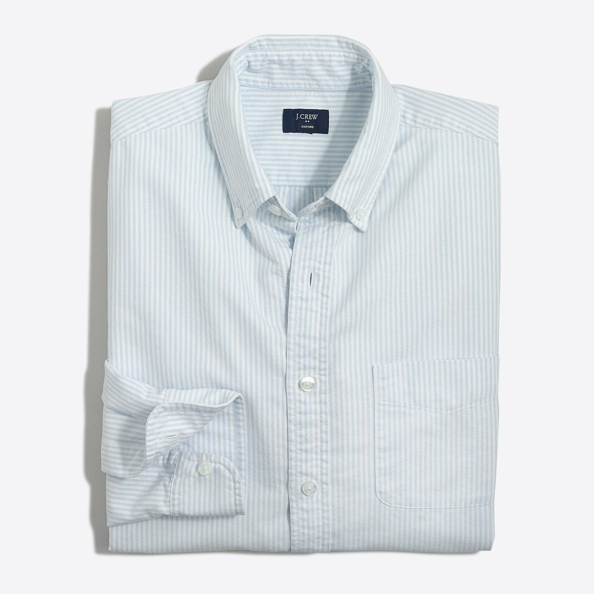 j crew sale oxford shirt