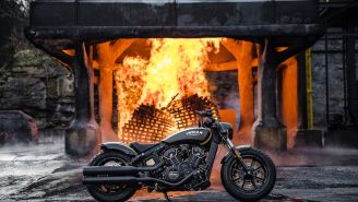 You'll Get Intoxicated By Just Looking At The Jack Daniel's Limited Edition Indian Scout Bobber