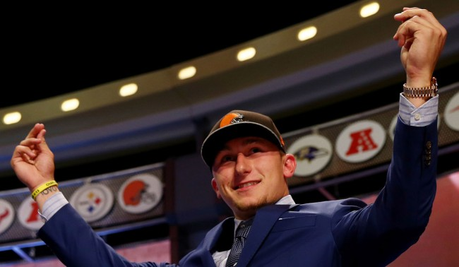 Johnny Manziel Throws Scouts Draft Advice