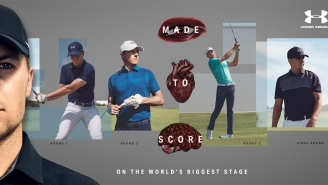Here's All The Under Armour Scripting Jordan Spieth Will Wear At The Masters (And How To Get It)
