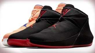 Jordan Released Two More New Why Not Zer0.1 Colorways Including The 'Bred' In Black And Gym Red