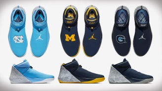 The 'UNC' And 'Michigan' Jordan Why Not Zer0.1 'NCAA Packs' Are Available NOW