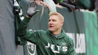 Josh McCown Signed His Newest Contract With The Jets While Waiting For Chick-Fil-A
