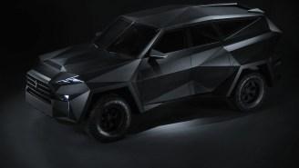 The Karlmann King Bulletproof SUV Looks Like The Batmobile Mated With A Military Humvee