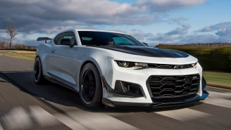 How Much Fun Would It Be To Drive This Supercharged 758 Horsepower 2018 Chevrolet Camaro ZL1 1LE?