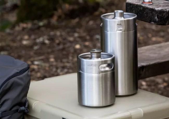 ManCan Picnic Keg Stainless Steel Beer Growlers