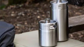 Huckberry Pick Of The Day: ManCan Stainless Steel Picnic Keg Is The Best Way To Transport Beer