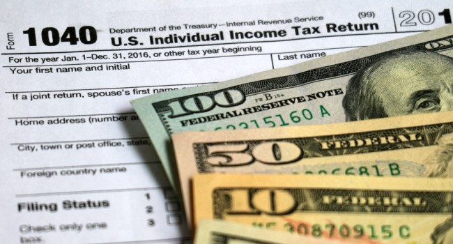 Map Average Tax Refund In Every State